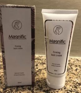 Magnific firming bust cream